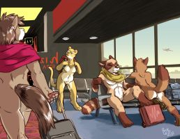 Airport by RickGriffin