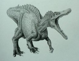 Suchomimus. by Frank-Lode