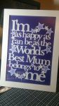 Mothers Day Papercut  by passionfyre