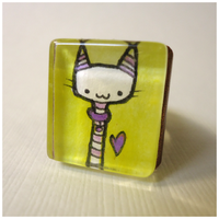 Kitty Ring by cellsdividing