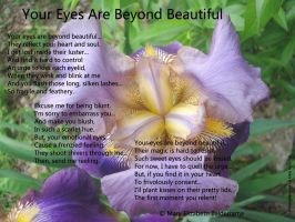 Your Eyes Are Beyond Beautiful by MaryBalderrama