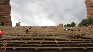 Red Rocks amphitheater by candysamuels