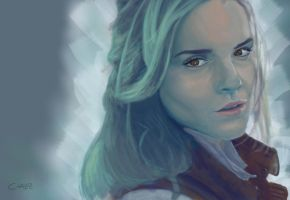 Emma Watson by ArtiztiCreationZ