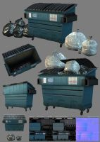 3D Game - Dumpster by raykitshum