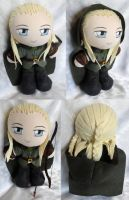 Commission, Plushie Legolas Greenleaf by ThePlushieLady