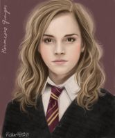 Emma as Hermione by pichu4850