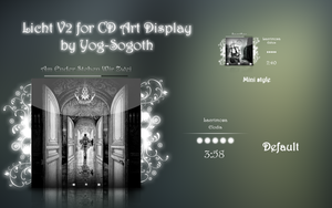 Licht V2 for Cd Art Display by yog-sogoth