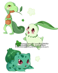 Grass starters by paintingpixel