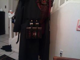 Inquisitor WIP Jacket with belt props 02 by Bag-of-hammers