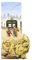 Doctor Who - Storybook pinup 2 by danmcdaid