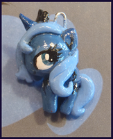 Chibi-Charms: MLP Luna mini by MandyPandaa
