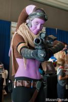 CC10 - Twi'lek Bounty Hunter by BlizzardTerrak