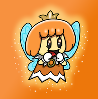 Orange Sprixie Princess by NY-Disney-fan1955