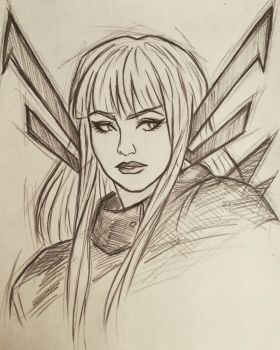 Magik sketch by 7Lisa