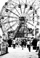 Coney Island Fair by lesley-oldaker