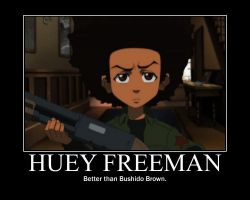 Huey Freeman Motivator by StankyxChicken