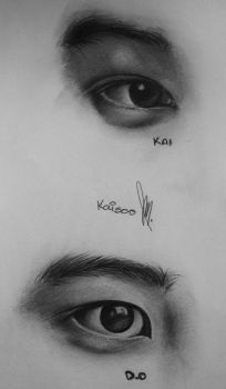 kaisoo eyes by song-yoonah