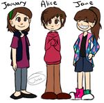 Old OCs by The-Twitching-Doll