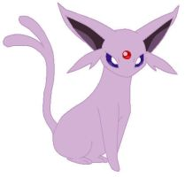espeon by lucarioD