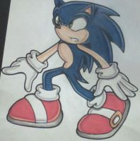 Sonic the Hedgehog :colour: by Pendulonium