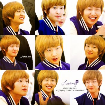 Onew 'Son of the Sun Fan Signing' by annisaretry