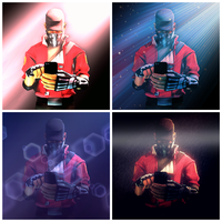 4 different effects by WatchDogs-Vigilante