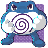 062 Poliwrath by Miss-Glitter