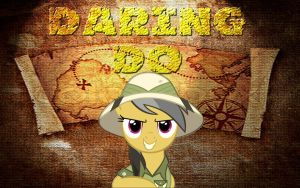 Daring Do Wallpaper by Macgrubor