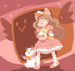 Steampunk Saturday: Bee and Puppycat (Animated) by Cuttlesworth
