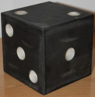 Black Giant Dice Stock 004 by TundraStock