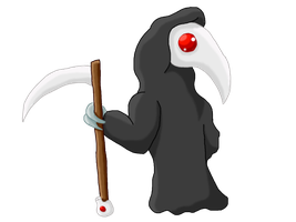 Chibi Plague Doctor by sharraXtheXcubone