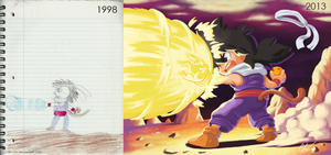 Draw This Again - Gohan by Air-City