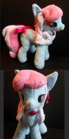 My Little Pony Minty Custom Plush by Sophillia