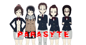 Parasyte -The Maxim - by Xx-Chellie-Bellie-xX