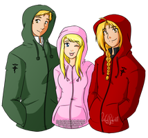 Risembool Trio - Hoodie Edition by windrider01
