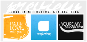 #4 Count On Me {icon textures} by iheart-sj