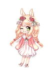 {chibi commission}  Mikan by Leniuu