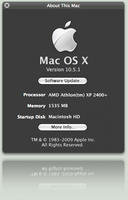 About this Mac applet by fediaFedia