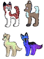 adoptables collab OPEN by snowgraywhite