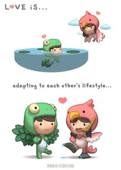 Love is... Adapting! by hjstory