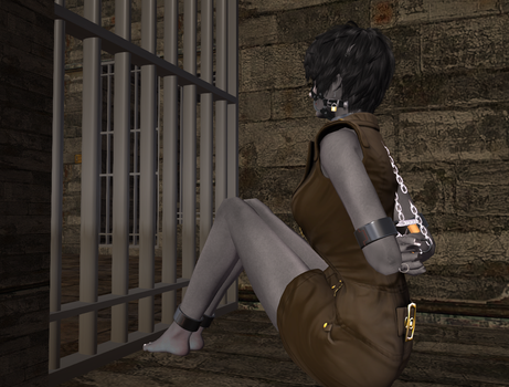 Chained behind Bars by DrowScience