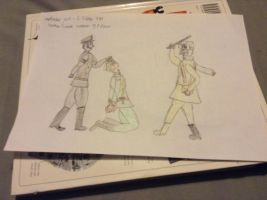 Germany and Russia invade Poland by Mrjsmproductions