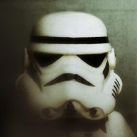 Stormtrooper portrait by OMGImFabulous