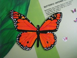 Butterfly POP Art 2 by AcrylicHeart