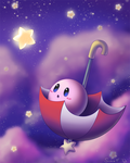 Parasol Kirby by SunnieF