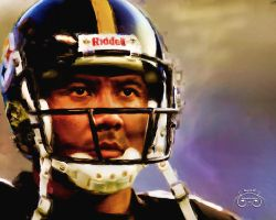 Hines Ward #86 Painting by photoman356