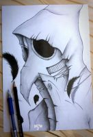 Plague Doctor by Xezra