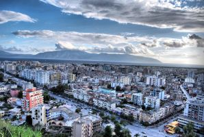 Vlora city by albanianartlover