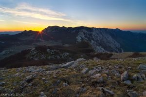 Sunrise on Viserujno by ivancoric
