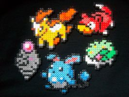 Hama Pokemon by rachaelrevenge